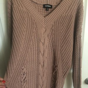 EXPRESS mauve sweater M Perfect used condition